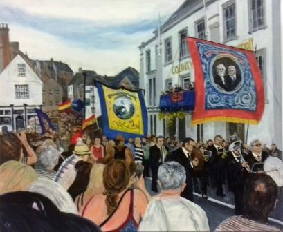 Les Southerton Durham Miners' gala